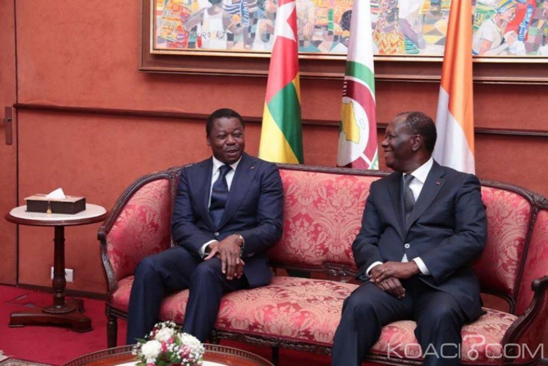 Côte d'Ivoire : Le président Togolais est arrivé à Abidjan pour  une visite d'amitié et de travail