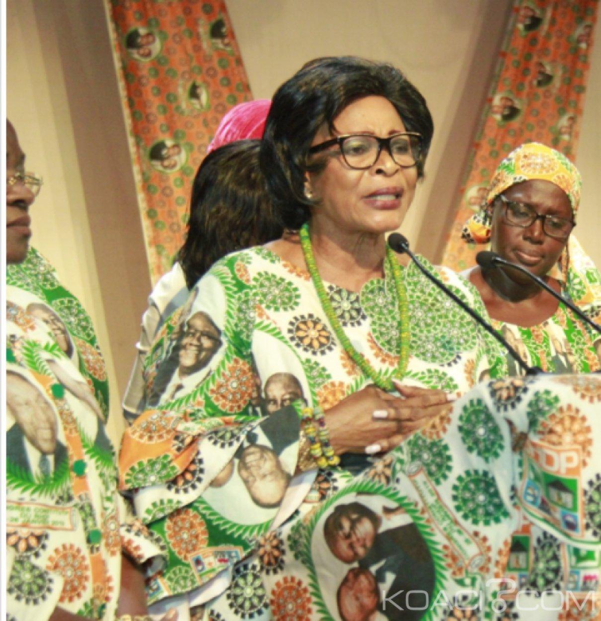 Côte d'Ivoire : La présidente des femmes du RHDP réagit aux accusations de Bédié «Qu'il se rappelle du détournement des 18 milliards de l'UE par Guikahué»