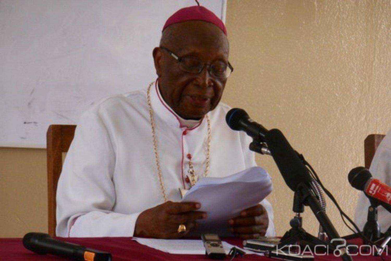 Togo : Sort du pays, Mgr Kpodzro s'adresse au Président Gnassingbé et dévoile son ultime attente