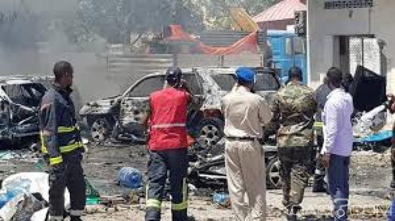 Somalie  : Mogadiscio, 2 morts et 5 blessés dans un attentat à la voiture piégée près d'un ministère