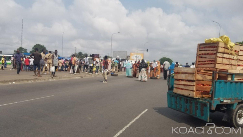 Côte d'Ivoire: Nouvelle manifestation anti-Gbagbo à Abobo, circulation bloquée !