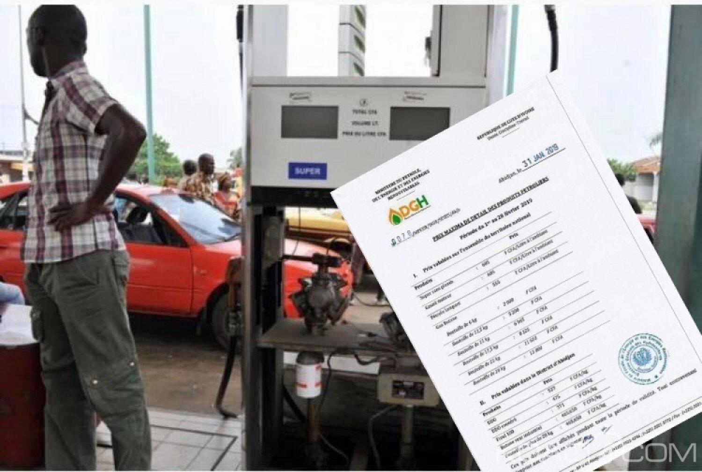 Côte d'Ivoire : Produits pétroliers, baisse du prix du Super et Gasoil de 5 FCFA