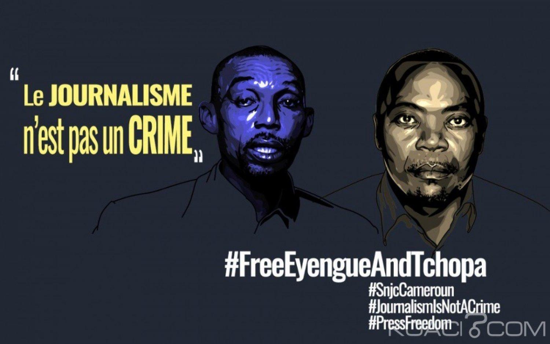 Cameroun : Les défenseurs des medias lancent une campagne pour la libération de deux journalistes