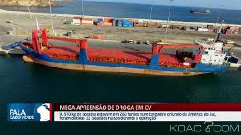 Cap-vert : Saisie record de 9,5 tonnes de cocaïne au port de Praia, 11 russes interpellés