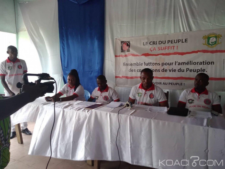 Côte d'Ivoire : À Yopougon, des jeunes réunis avertissent des dangers sociaux qui guettent leur pays et lancent un appel à Ouattara