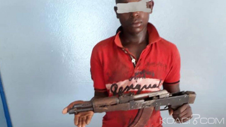 Côte d'Ivoire : Un individu en possession d'une Kalachnikov  mis aux arrêts