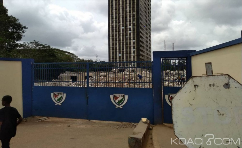 Côte d'Ivoire : Démolition de l'ancien site abritant la préfecture de police pour la construction de la tour F
