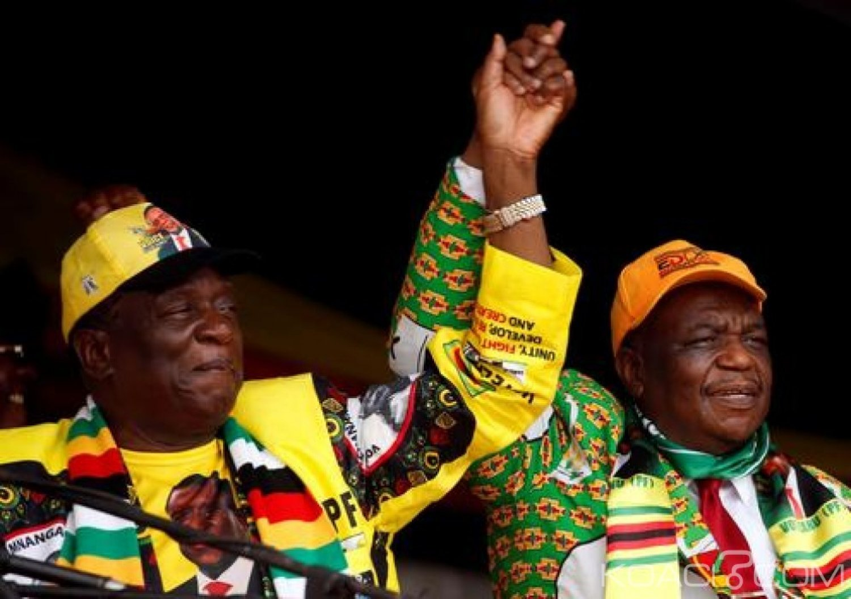Zimbabwe : Le vice-Président  hospitalisé d'urgence en Afrique du Sud