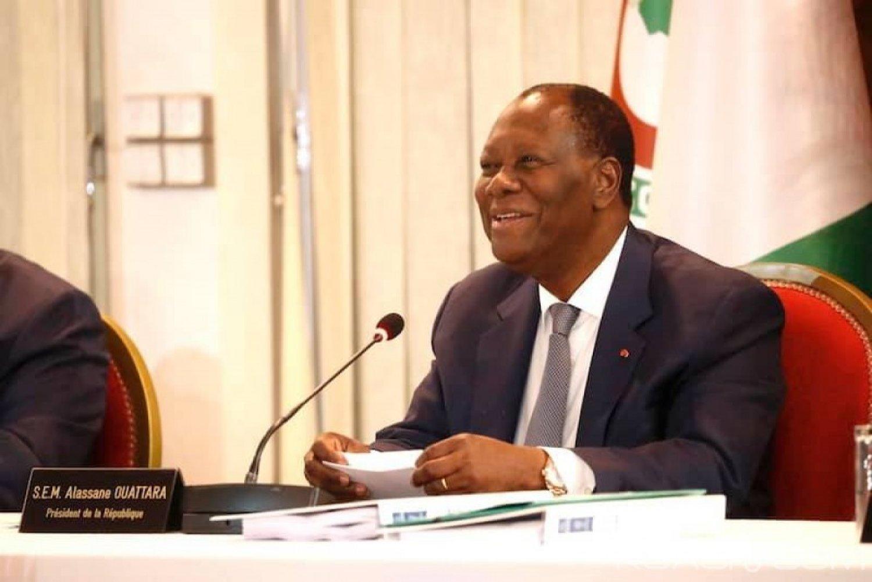 Côte d'Ivoire : 2020, Ouattara encourage Gon à poursuivre le dialogue politique pour réussir le défi du réexamen de la composition de la CEI
