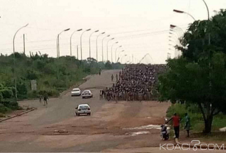 Côte d'Ivoire: À Yamoussoukro, les élèves du lycée scientifique dans les rues pour réclamer de meilleurs conditions d'études
