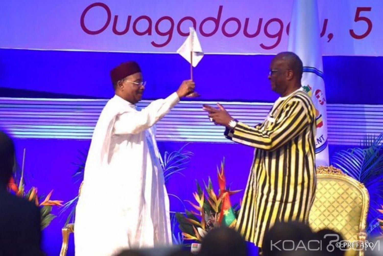 Burkina Faso  : Le président Kaboré à la tête du G5 Sahel