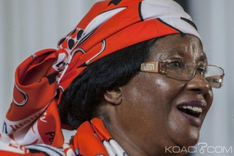 Malawi : L'ancienne Présidente Joyce Banda se porte candidate à la Présidentielle