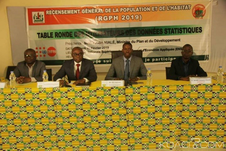Côte d'Ivoire : RGPH 2019, le démarrage de la cartographie censitaire et le recensement pilote annoncés pour février