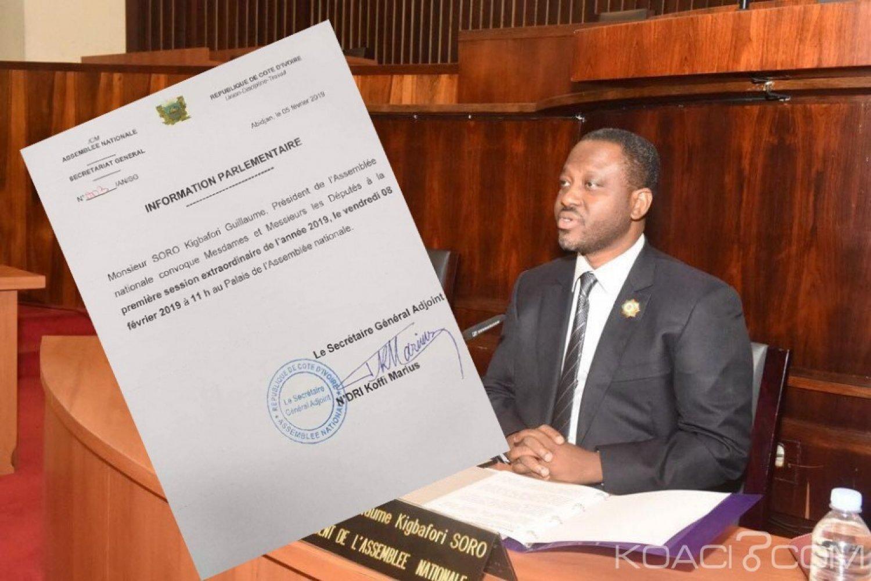 Côte d'Ivoire : Soro convoque les députés le vendredi prochain, probable démission?