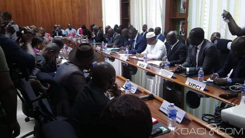 Côte d'Ivoire : Réforme de la CEI, voici la requête  que le PDCI et 21 partis ont adressé  au gouvernement