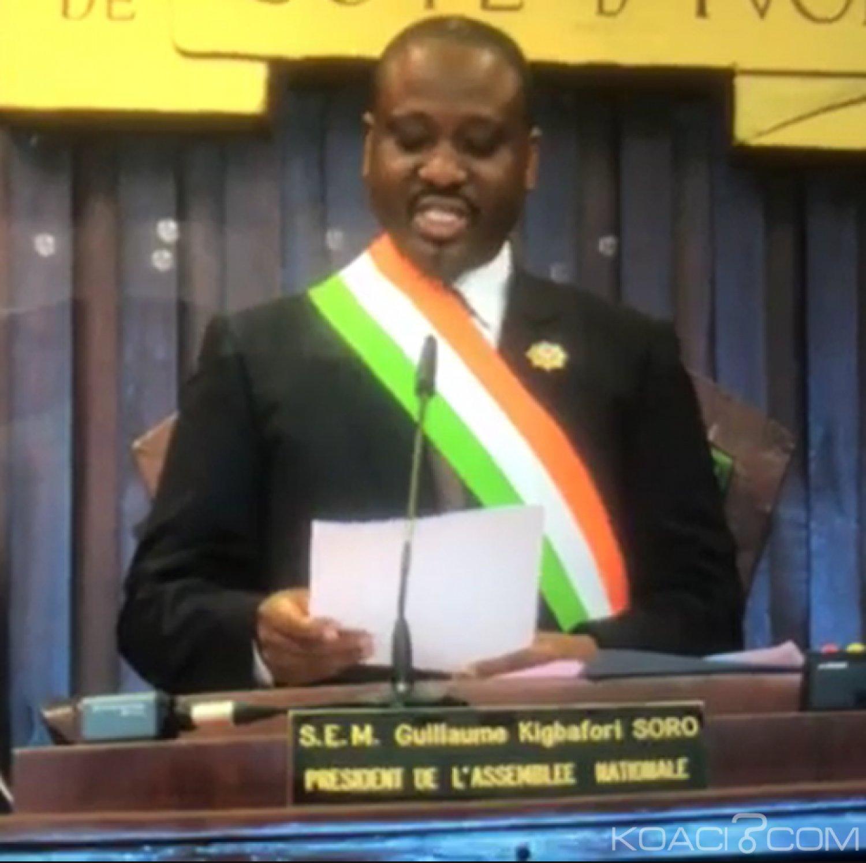 Côte d'Ivoire : Guillaume Soro démissionne de son poste de président de l'Assemblée Nationale