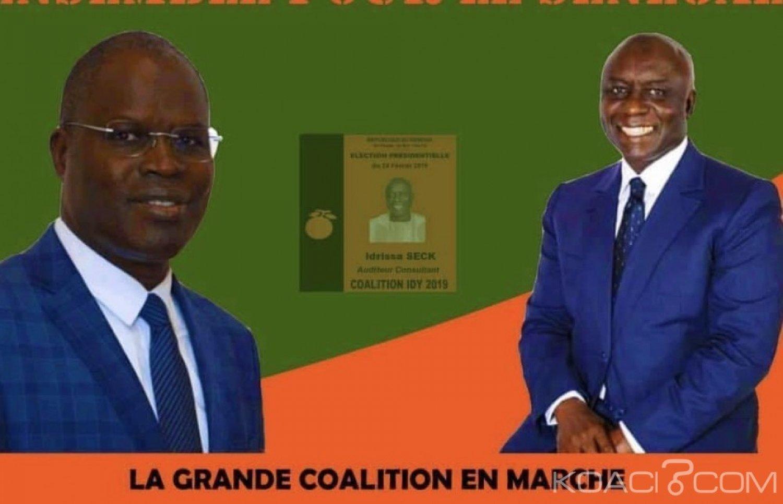Sénégal : Présidentielle, Idrissa Seck obtient le soutien de l'ex maire de Dakar Khalifa Sall