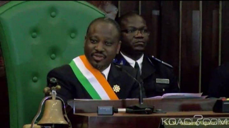 Côte d'Ivoire : Départ de  Guillaume Soro sous des ovations nourries, le groupe parlementaire PDCI-RDA prend acte de sa démission