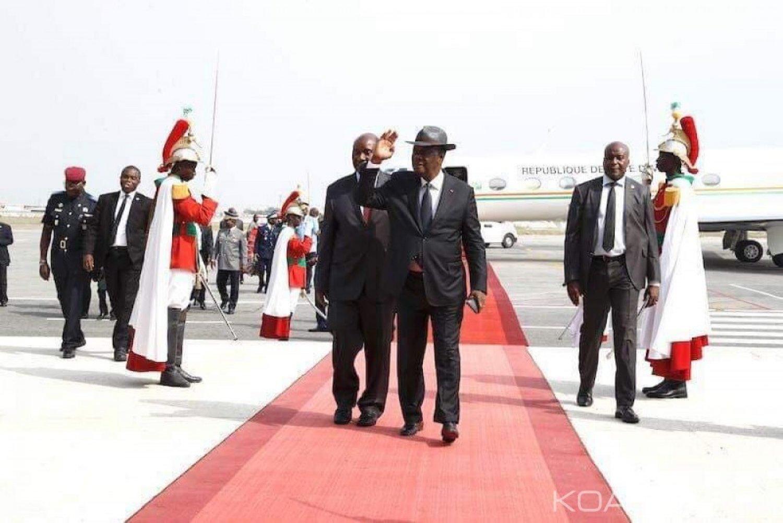 Côte d'Ivoire : Après la démission de Soro, Ouattara s'envole pour l'Éthiopie au 32e sommet ordinaire des chefs d'État et de gouvernement de l'union africaine