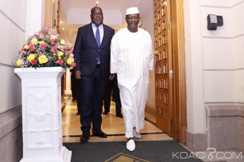Côte d'Ivoire-RDC : A Addis Abeba, Tshisekedi vient saluer le «boss» Ouattara
