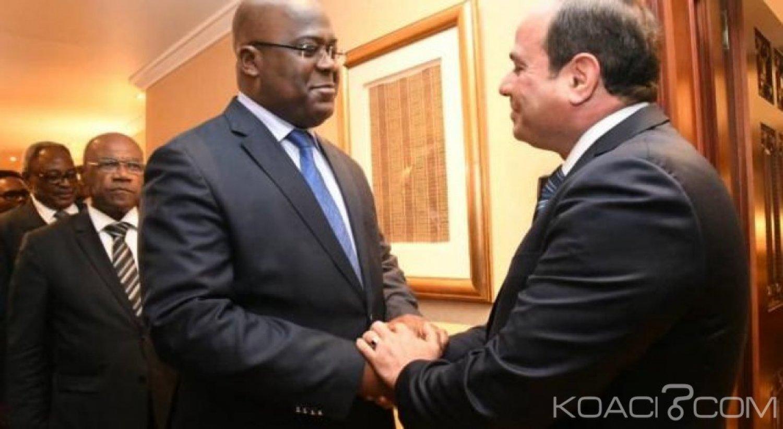 Union Africaine : L'égyptien Abdel Fattah al-Sissi succède à Paul Kagame, Felix Tschisekedi 2ème vice-Président