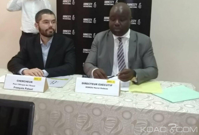 Côte d'Ivoire: À un an de  2020, Amnesty international craint les «vieux démons»  et dénoncent les atteintes aux droits humains à Abidjan
