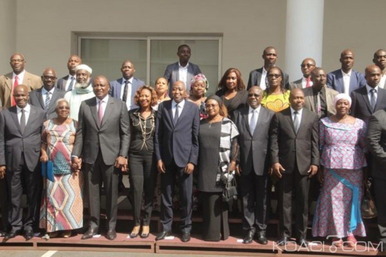 Côte d'Ivoire : Réexamen de la CEI, la société civile a remis ses propositions au ministre de l'Intérieur