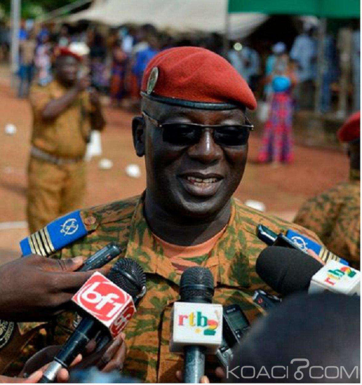 Burkina Faso : Installé, le nouveau chef d'État major de l'armée de terre promet la quiétude