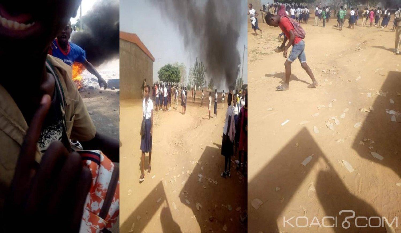 Côte d'Ivoire: À Bonon, course poursuite entre élèves et policiers, un blessé