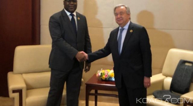 RDC: Félix Tschisekedi , « vedette » au 32 ème  sommet de l'UA, selon les médias locaux