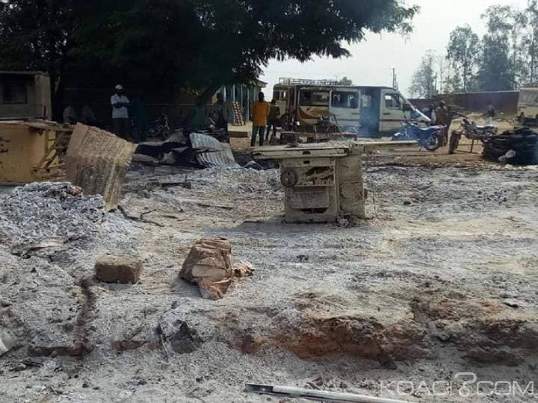 Côte d'Ivoire : Drame à Zuenoula, la scierie d'un opérateur économique part en fumée, d'importants dégà¢ts matériels