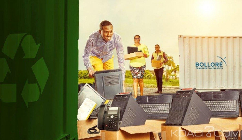 Côte d'Ivoire : Collecte et recyclage des déchets électroniques à Abidjan, une multinationale spécialisée dans le transport et la logistique s'engage