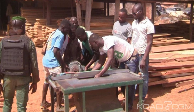Côte d'Ivoire : Lutte contre les filières clandestines d'approvisionnements des marchés locaux en bois, la première mission de la Brigade  Spéciale porte ses fruits