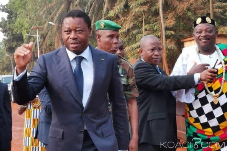 Togo : Conseil des ministres sous tente à l'intérieur, les locales se précisent