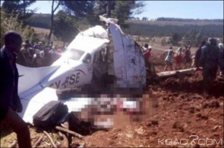 Kenya : Aucun survivant dans le crash d'un petit avion dans le nord-ouest