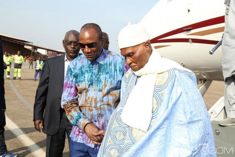 Sénégal-Guinée : À Conakry Condé déroule le tapis-rouge à Me Wade et risque de fà¢cher Sall