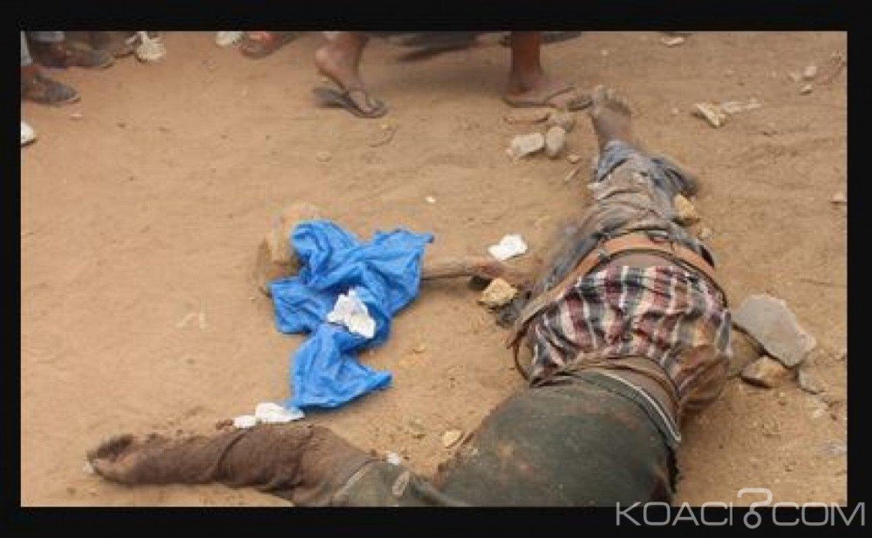 Côte d'Ivoire : Un braqueur présumé abattu ce lundi en pleine opération  à Séguéla