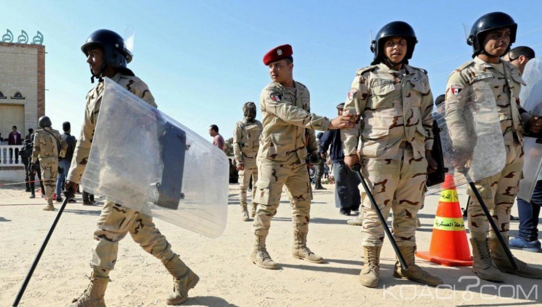 Egypte : Attaque de l' EI contre un check-point, 15 soldats morts ou blessés , sept jihadistes éliminés