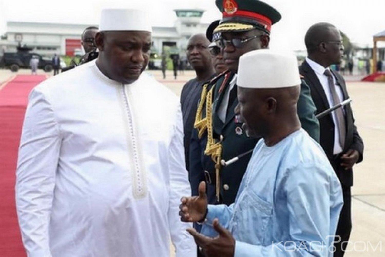 Gambie : Darboe se démarque de Barrow sur la chute de Jammeh