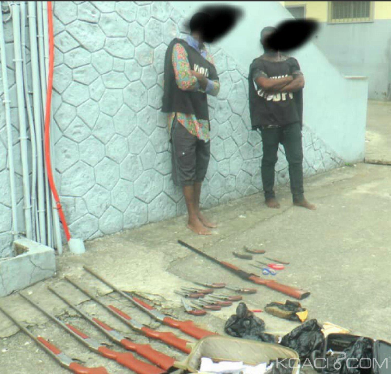 Côte d'Ivoire : Deux présumés trafiquants  d'armes appréhendés par la police