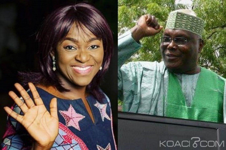 Nigeria : Présidentielle 2019, Eunice Atuejide se retire au profit de Atiku Abubakar