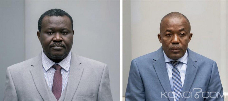Centrafrique: CPI, Alfred Yekatom et Patrice-Edouard Ngaïssona jugés ensemble lors d'un même procès