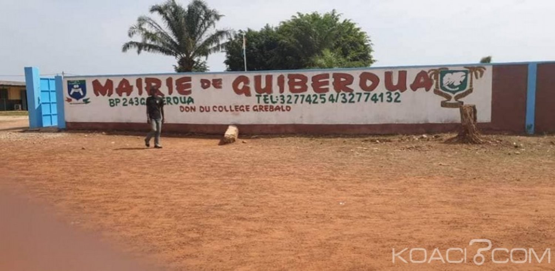 Côte d'Ivoire : À Guibéroua, la commune sous tension, le secrétaire de la mairie suspendu, « le sous-préfet prend parti », des populations révoltées