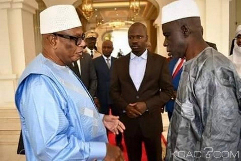Mali :  IBK reçoit les deux ex-otages  au palais présidentiel