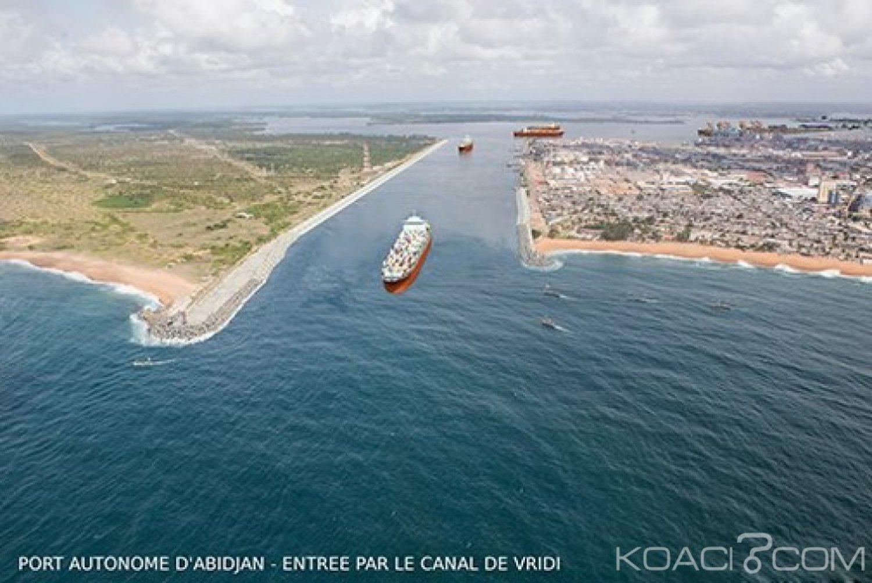 Côte d'Ivoire : Inauguration du canal élargi du port qui engendrera  1800 emplois directs pendant la durée des travaux (3 ans)
