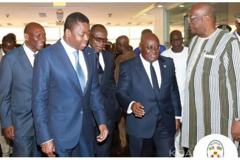 Togo : Mini-sommet régional sur  la sécurité et le terrorisme au Ghana