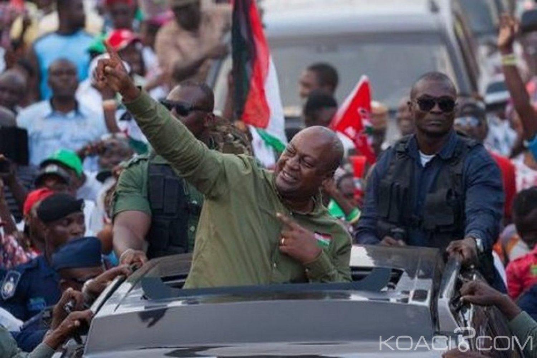 Ghana : Election primaire du NDC, John Mahama élu candidat pour la présidentielle 2020