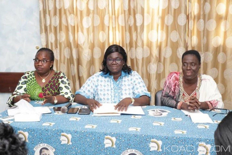 Côte d'Ivoire : RHDP, les femmes de l'UDPCI en «campagne» pour le choix de leur Président à l'élection présidentielle de 2020