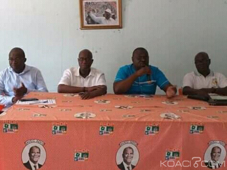 Côte d'Ivoire : Depuis le siège du RHDP de Bouaké, une coordination des enseignants appelle à la reprise des cours, des mesures sécuritaires annoncées par Bema Fofana