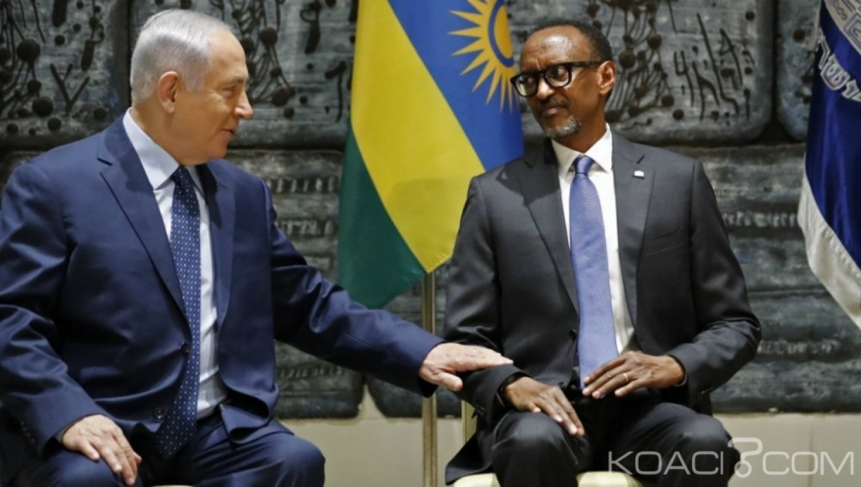 Rwanda  : Israël  ouvre sa première ambassade  à Kigali